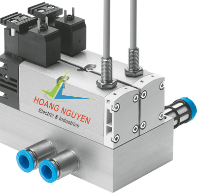 Standard valve VSVA with square plugs
