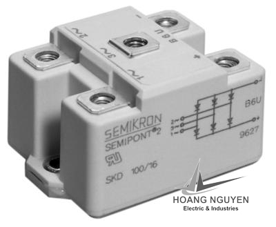 SEMIKRON BRIDGE RECTIFIER MODULES SKD100