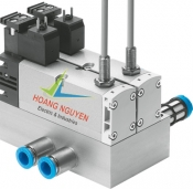 Solenoid valves VSVA with round plugs