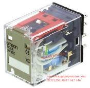 Relay trung gian (relay kiếng) Omron MY4N DC24